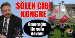 AK Parti, Palandöken'de Ömeroğlu ile 'yola devam' dedi...