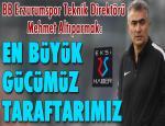 B.B. Erzurumspor Beşiktaş maçı hazırlıklarını sürdürdü