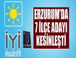 Erzurum'da İYİ Parti'nin ilçe adayları netleşmeye başladı...