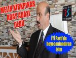 İşadamı Melih Kırkpınar İYİ Parti'den aday adayı oldu...