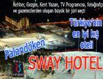 Büyük bir jüri seçti: Türkiye'nin en iyi kış oteli: Sway Hotel