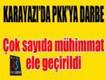 Karayazı'da PKK'ya büyük darbe...