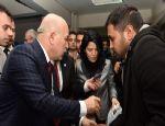 Erzurum Büyükşehir Belediyesi Suriyeli 45 aileye yardım eli uzattı...