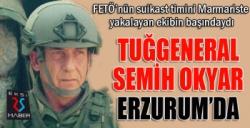 Okyar Paşa. Erzurum Jandarma Bölge Komutanı oldu...