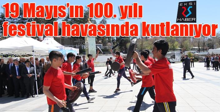 19 Mayıs'ın 100. yılı festival havasında kutlanıyor