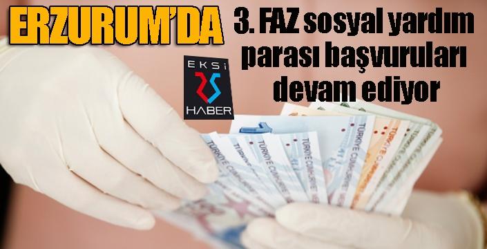 3. FAZ sosyal yardım parası başvuruları devam ediyor