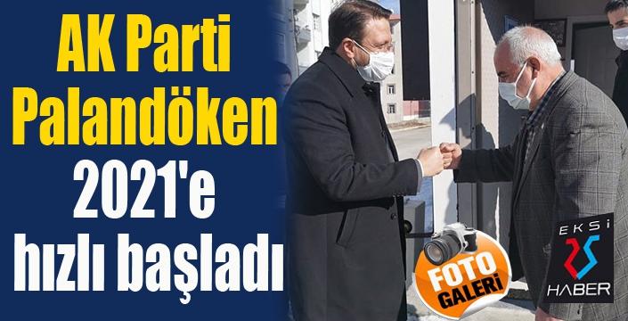 AK Parti Palandöken 2021'e hızlı başladı