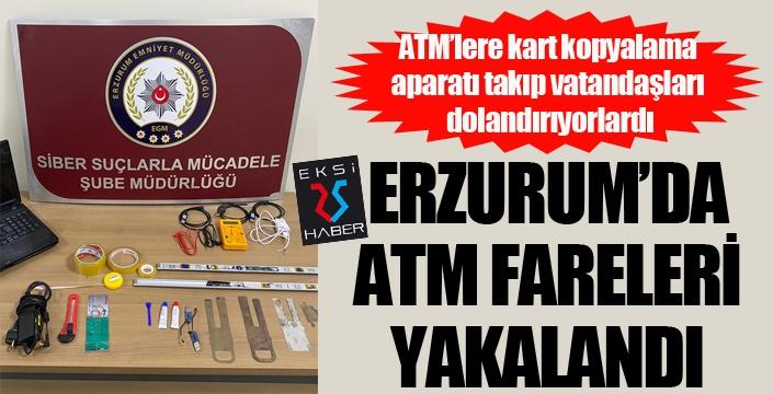 ATM'lere kart kopyalama aparatı takıp vatandaşları dolandıran zanlılar yakalandı