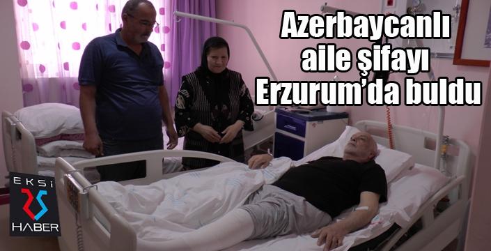 Azerbaycanlı aile şifayı Türkiye'de buldu