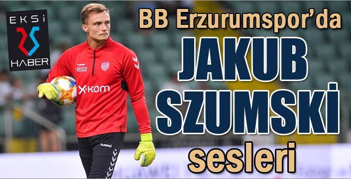BB Erzurumspor'da hedef Jakub Szumski