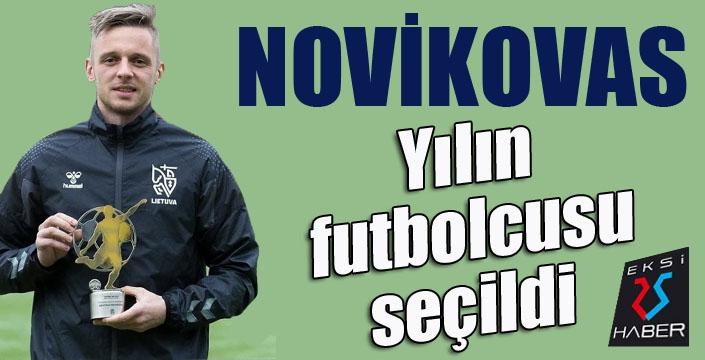 BB Erzurumsporlu Novikovas, yılın futbolcusu seçildi...