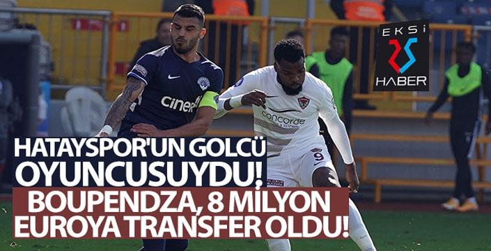 Boupendza, 8 milyon Euro karşılığında Krasnodar'a transfer oldu