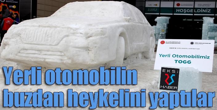 Buzdan yerli otomobil