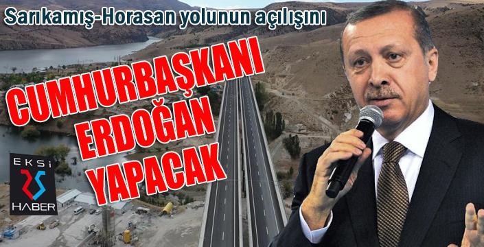 Cumhurbaşkanı Erdoğan Sarıkamış-Horasan yolunun video konferansla açılışını yapacak