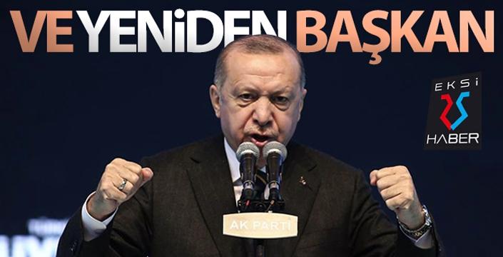 Cumhurbaşkanı Recep Tayyip Erdoğan, yeniden AK Parti Genel Başkanı seçildi