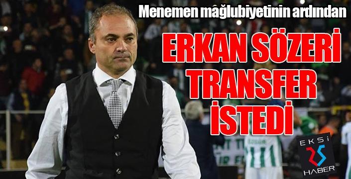 """Erkan Sözeri: """"5-6 transfer yapmamız gerektiği ortaya çıktı"""""""