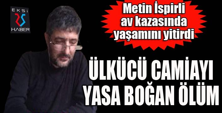 Erzurum'da ülkücü camiayı yasa boğan ölüm...