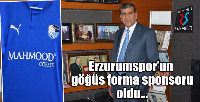 Erzurumspor'a yeni sponsor...