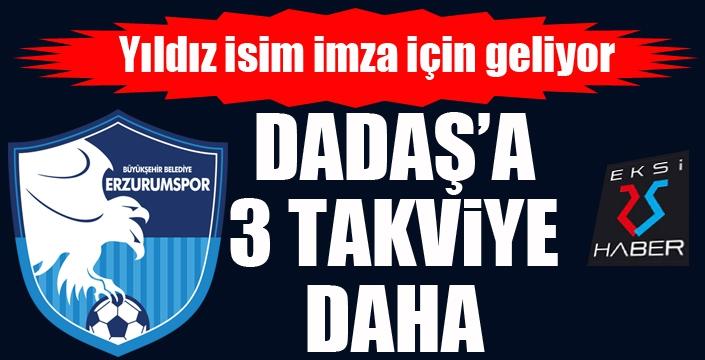 Erzurumspor'dan 3 takviye daha