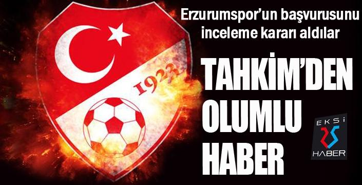 Tahkim Kurulu Erzurumspor'u dinledi...