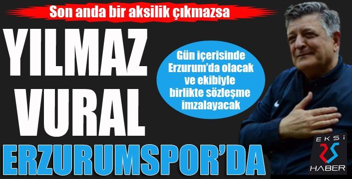 Erzurumspor Yılmaz Vural'a emanet...