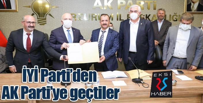 İYİ Parti'den istifa ettiler, AK Parti'ye geçtiler...