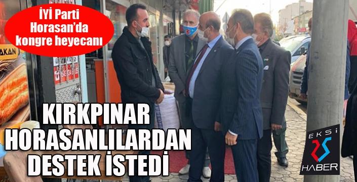 İYİ Parti Horasan'da kongre heyecanı...