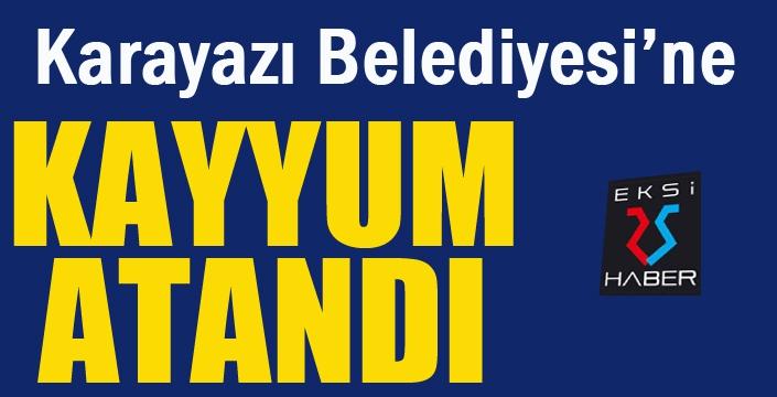 Karayazı Belediyesine kayyum atandı