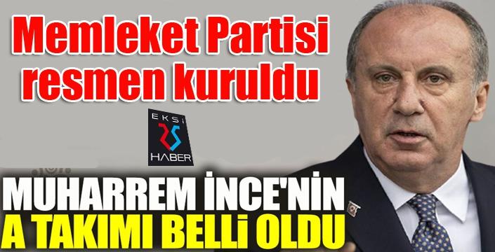 MEMLEKET PARTİSİ KURULDU