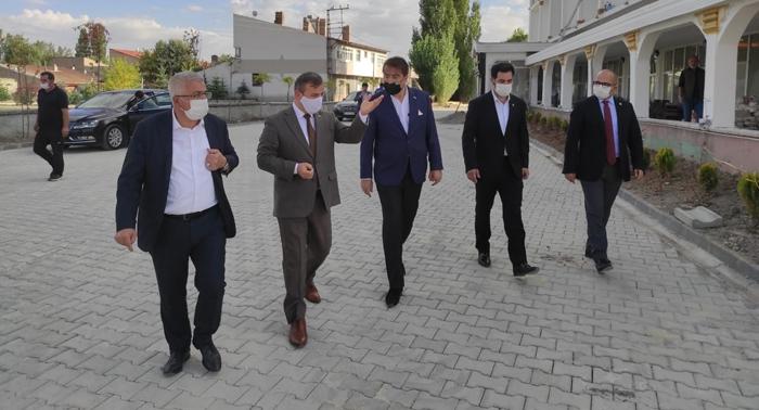Milletvekili Aydemir, Pasinler'de incelemelerde bulundu