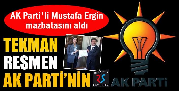 Tekman HDP'den AK Parti'ye geçti...