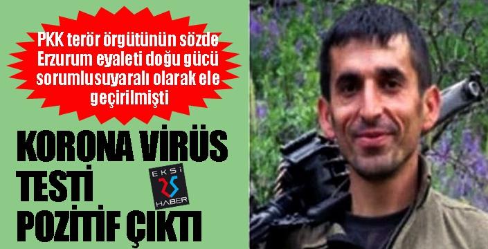 Yaralı yakalanan terörist koronavirüslü çıktı